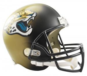 Jacksonville Jaguars Replica Full Size Helmet NEW 2013