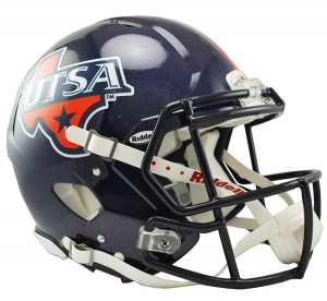 UTSA Roadrunners Authentic Revolution Speed Full Size Helmet