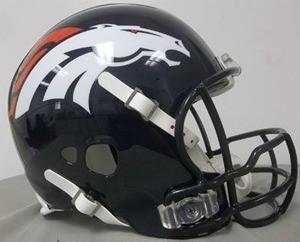 Denver Broncos Peyton Manning Authentic Revolution Full Size Helmet NEW 2013