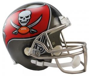 Tampa Bay Buccaneers Replica Full Size Helmet NEW 2014