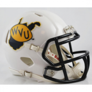Riddell NCAA West Virginia Mountaineers 2013 Season Speed Mini Football Helmet