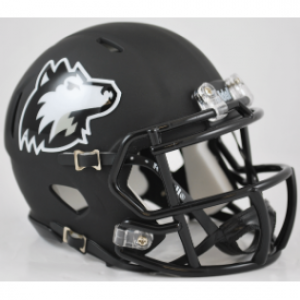 Riddell NCAA Northern Illinois Huskies Matte Black Speed Mini Football Helmet