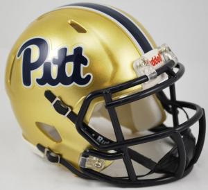 Riddell NCAA Pittsburgh Panthers Pitt Script Speed Mini Football Helmet