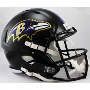 Riddell NFL Baltimore Ravens Revolution Speed Replica Full Size Helmet