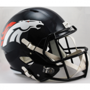 Riddell NFL Denver Broncos Revolution Speed Replica Full Size Helmet