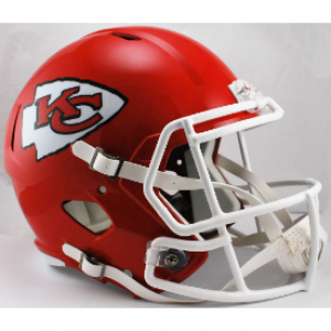 Riddell Full Size Repl Speed Rev Helmet NFL Kansas City Chiefs