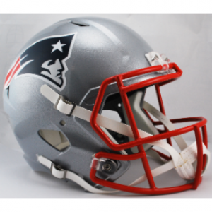 Riddell NFL New England Patriots Revolution Speed Replica Full Size Helmet