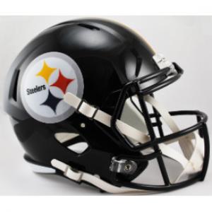 Riddell NFL Pittsburgh Steelers Revolution Speed Replica Full Size Helmet