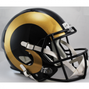Riddell NFL Saint Louis Rams 2000-2016 Throwback Revolution Speed Replica Full Size Helmet
