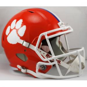 Riddell NCAA Clemson Tigers Revolution Speed Replica Full Size Helmet