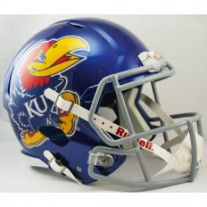 Riddell NCAA Kansas Jayhawks Revolution Speed Replica Full Size Helmet