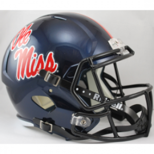 Riddell NCAA Mississippi (Ole Miss) Rebels Revolution Speed Replica Full Size Helmet