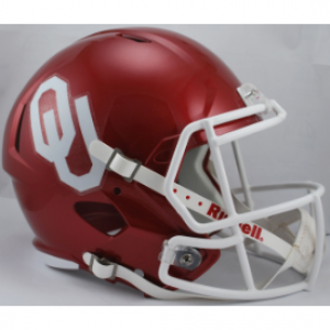 Riddell NCAA Oklahoma Sooners Revolution Speed Replica Full Size Helmet
