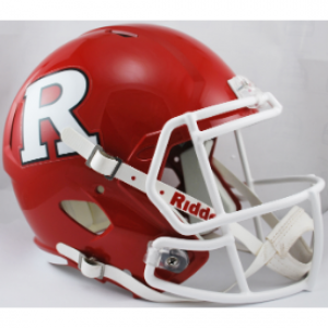 Riddell NCAA Rutgers Scarlet Knights Revolution Speed Replica Full Size Helmet
