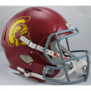 Riddell NCAA USC Trojans Revolution Speed Replica Full Size Helmet