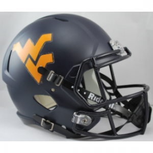 Riddell NCAA West Virginia Mountaineers Revolution Speed Replica Full Size Helmet