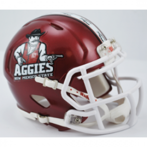 Riddell NCAA New Mexico St Aggies Speed Mini Football Helmet