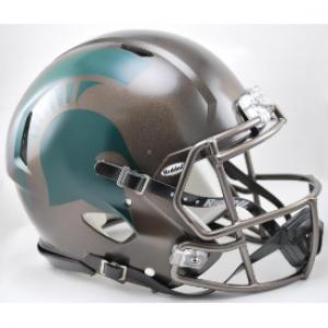 Riddell NCAA Michigan St Spartans Bronze Revolution Speed Authentic Full Size Helmet