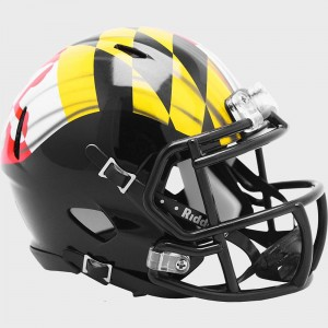 Riddell NCAA Maryland Terrapins Pride Speed Mini Football Helmet