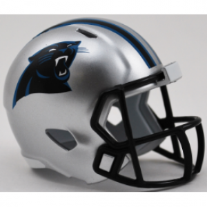 Riddell NFL Carolina Panthers Revolution Speed Pocket Size Helmet