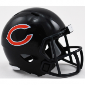Riddell NFL Chicago Bears Revolution Speed Pocket Size Helmet