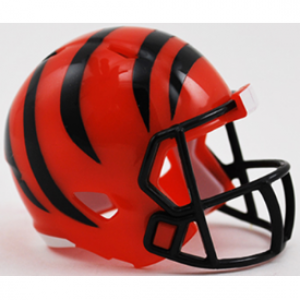 Riddell NFL Cincinnati Bengals Revolution Speed Pocket Size Helmet
