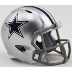 Riddell NFL Dallas Cowboys Revolution Speed Pocket Size Helmet
