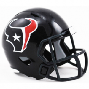 Riddell NFL Houston Texans Revolution Speed Pocket Size Helmet