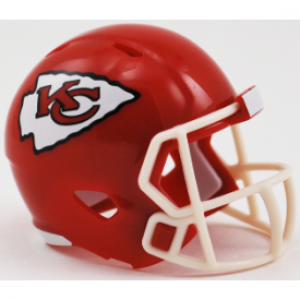 Riddell NFL Kansas City Chiefs Revolution Speed Pocket Size Helmet