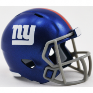 Riddell NFL New York Giants Revolution Speed Pocket Size Helmet
