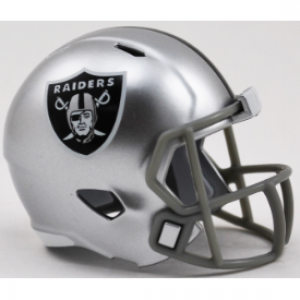 Riddell NFL Oakland Raiders Revolution Speed Pocket Size Helmet