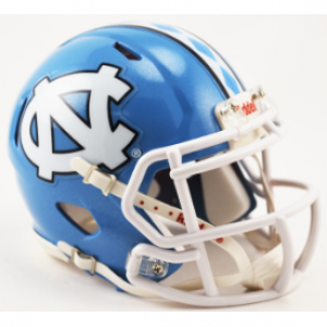 Riddell NCAA North Carolina Tar Heels Speed Mini Football Helmet