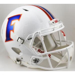 Florida Gators 2015 White Authentic Revolution Speed Full Size Helmet