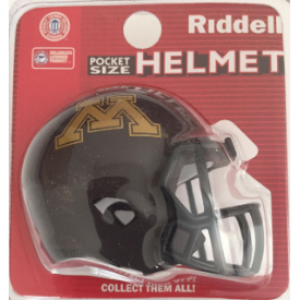 Riddell NCAA Minnesota Golden Gophers Speed Pocket Size Football Helmet