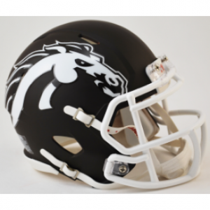 Riddell NCAA Western Michigan Broncos Matte Brown Revolution Speed Mini Helmet