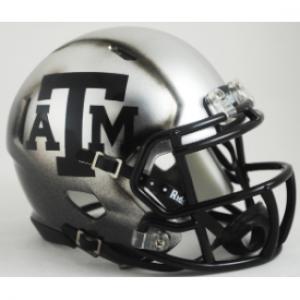 Riddell NCAA Texas A&M Aggies 2015 Throwback Ice Hydro Speed Mini Football Helmet