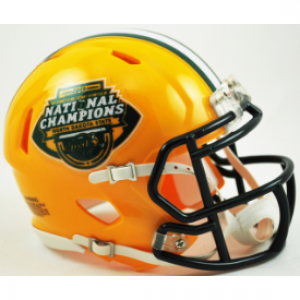 Riddell NCAA North Dakota St Bison 2015 National Champions Revolution Speed Mini Helmet