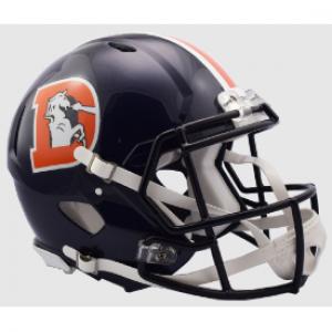 Denver Broncos Color Rush Riddell Full Size Authentic Speed Helmet