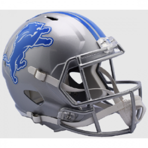 Riddell NFL Detroit Lions 2017 Revolution Speed Replica Full Size Helmet