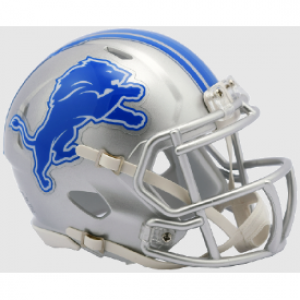 Riddell NFL Detroit Lions 2017 Revolution Speed Mini Helmet