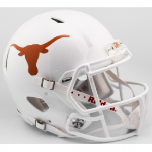 Riddell NCAA Texas Longhorns 2017 Authentic Speed Full Size Football Helmet