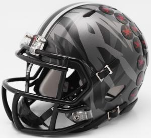 Riddell NCAA Ohio St Buckeyes 2017 Alt Camo Speed Mini Football Helmet
