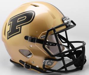 Riddell NCAA Purdue Boilermakers 2017 Authentic Speed Full Size Football Helmet