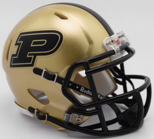 Riddell NCAA Purdue Boilermakers 2017 Speed Mini Football Helmet