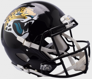Riddell NFL Jacksonville Jaguars 2018 Authentic Speed Full Size Football Helmet