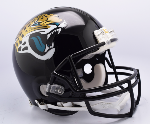 Riddell NFL Jacksonville Jaguars 2018 Authentic Vsr4 Full Size Football Helmet