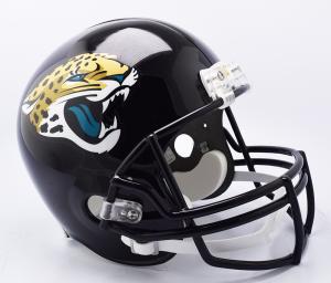 Riddell NFL Jacksonville Jaguars 2018 Replica Vsr4 Full Size Football Helmet