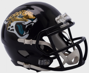 Riddell NFL Jacksonville Jaguars 2018 Speed Mini Football Helmet