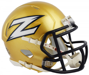 Riddell NCAA Akron Zips 2018 Speed Mini Football Helmet
