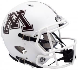 Riddell NCAA Minnesota Golden Gophers 2018 White Authentic Speed Full Size Football Helmet